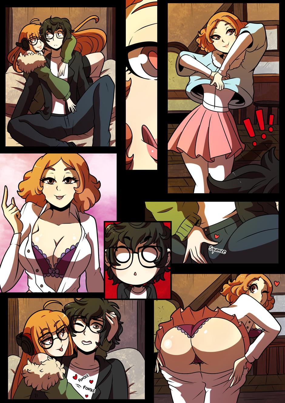 Joker/Futaba/Haru от kinkymation